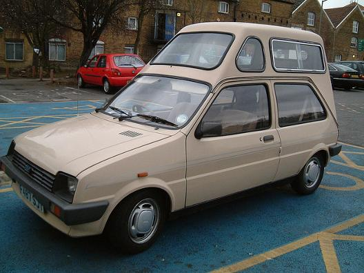 Austin Metro with extra height conversion