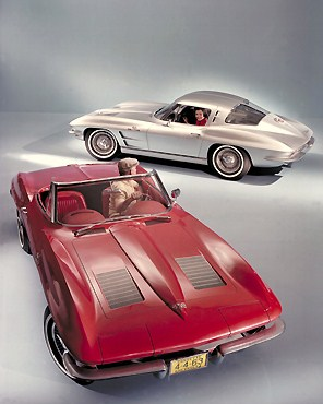 Public domain image of 1963 Chevettes
