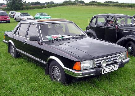 Ford Granada Car from the 80's