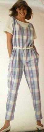 Checkered Jumpsuit from 1986
