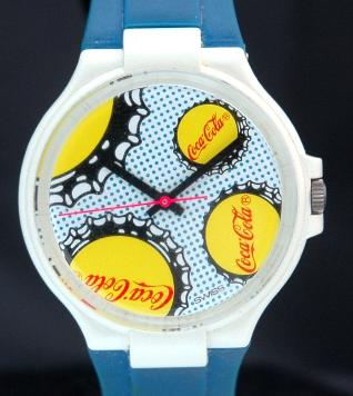 1987 Coca Cola pop Swatch