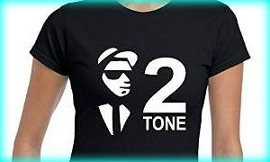 Ska and 2 Tone Tees for Ladies