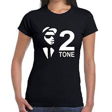 2 Tone and Ska T-shirts for Women