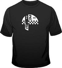 Fruit Of The Loom - 2 Tone label Ska T-Shirt for Men - choice of colours