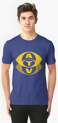 ATV British TV Logo T-shirt