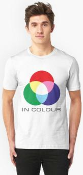 ATV in colour retro TV logo T-shirt