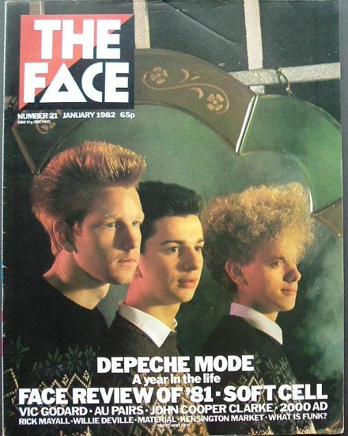 Depeche Mode - The Face - Jan 1982