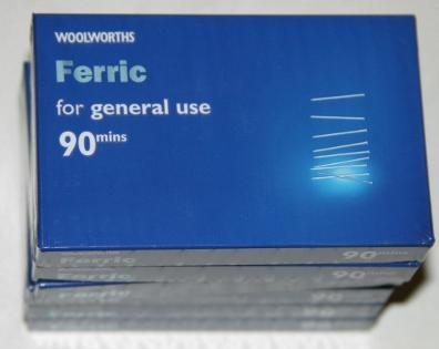 Woolworths Ferric Cassettes C90