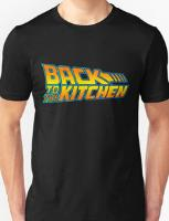 Back to the Kitchen Funny 80s T-shirt