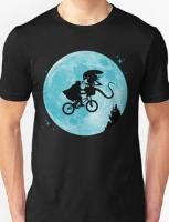 ET vs Alien T-shirt