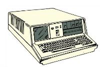 80s Computer Clipart