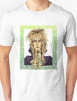 David Bowie Labyrinth 80s Movie T-shirt