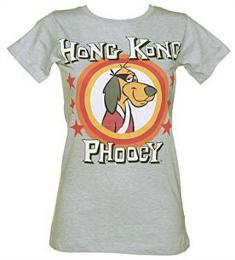 Ladies Fitted Hong Kong Phooey T-shirt