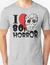 I Love 80's Horror Jason T-shirt