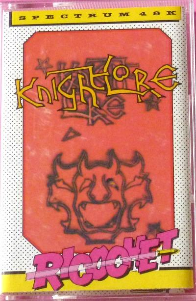 KNight Lore - ZX Spectrum 48k cassette