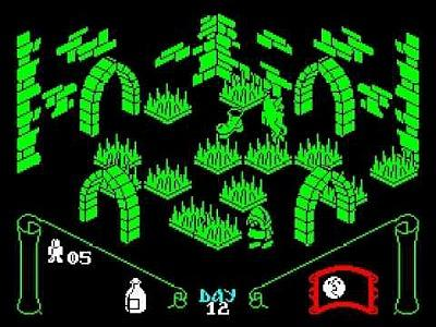 Knight Lore - ZX Spectrum screenshot
