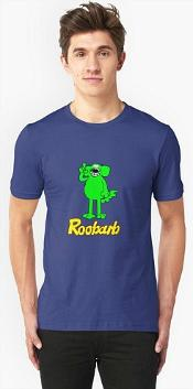 Roobarb Cartoon T-shirt for Men or Women