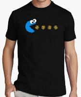 Cookie Monster Pac-Man T-shirt
