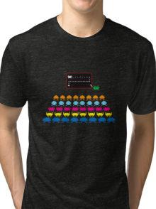 3D Space Invaders T-shirt for Adults