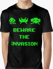 Beware The Invasion Invaders T-shirt