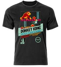 Donkey Kong 80s Video Game T-shirt for Men