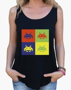 Four Invaders Vest Top for Women or Men