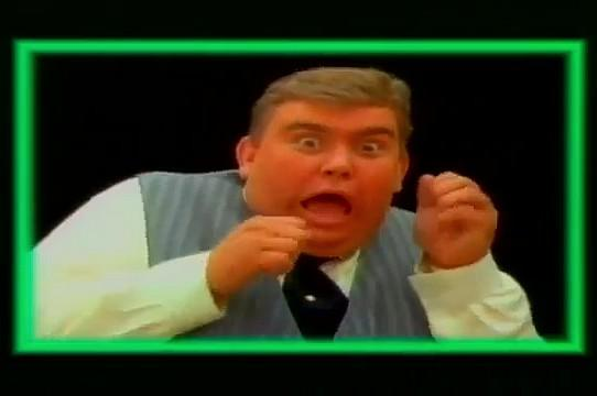 John Candy in Ghostbusters music video