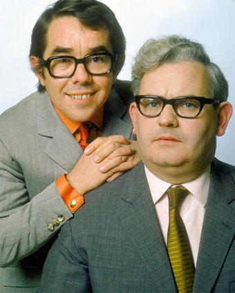 The Two Ronnies - Ronnie Corbett and Ronnie Barker in the 80s