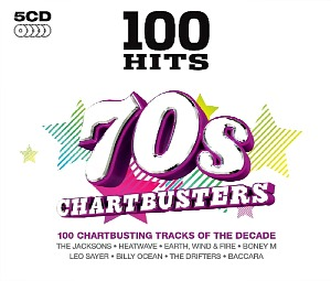 70s Chartbusters - 100 Hits - CD