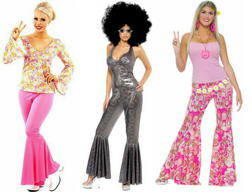 70s Disco Costumes for Ladies