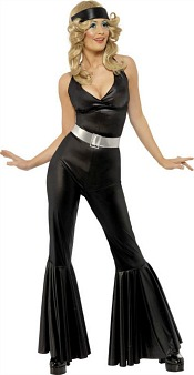 SMiffy's Black Disco Diva Costume for Women