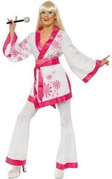 70s ABBA Kimono Disco Costume for Ladies