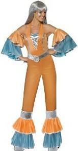Women's Flared Disco 70s Costume