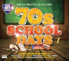 70s School Days - 5 CD Box Set