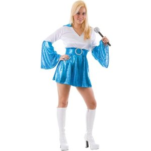 70s Abba fancy dress costume