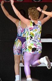 Ladies Aerobics in the 1980s