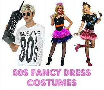 Fancy Dress For The 80s At