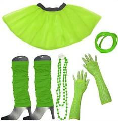 80s Fancy Dress Tutu Kit for Ladies