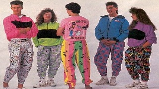 80s Fashion - Look