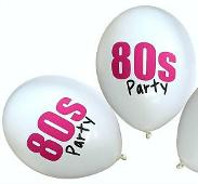 80s Party Balloons