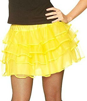 Yellow Petticoate Skirt for 80s Dress-up