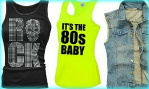 80s Vest and Tank Tops