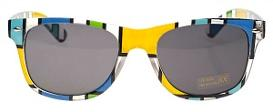 80s colour block Wayfarers (Unisex)