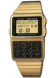 Casio 80s Data Bank Calculator Watch