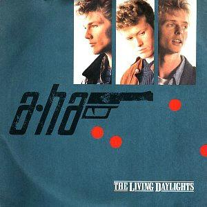 A-ha - The Living Daylights (1987) single