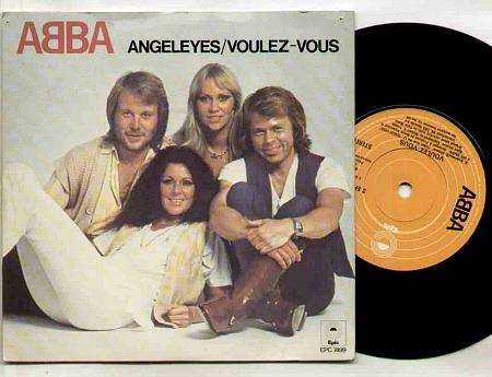 ABBA - AngelEyes / Voulez-Vous double-A side single (1979)