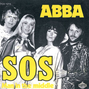ABBA - SOS (single sleeve)