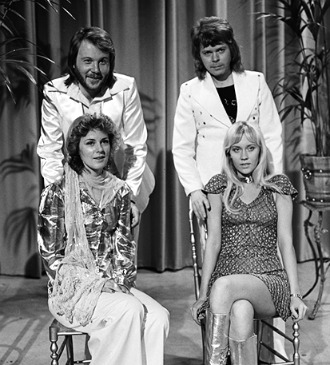 ABBA on 26th April 1974