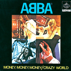 ABBA - Money, Money, Money - single sleeve