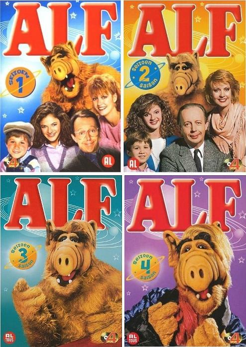 ALF DVD Boxset - season 1, 2 3 and 4